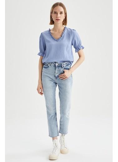 DeFacto Bluz Mavi